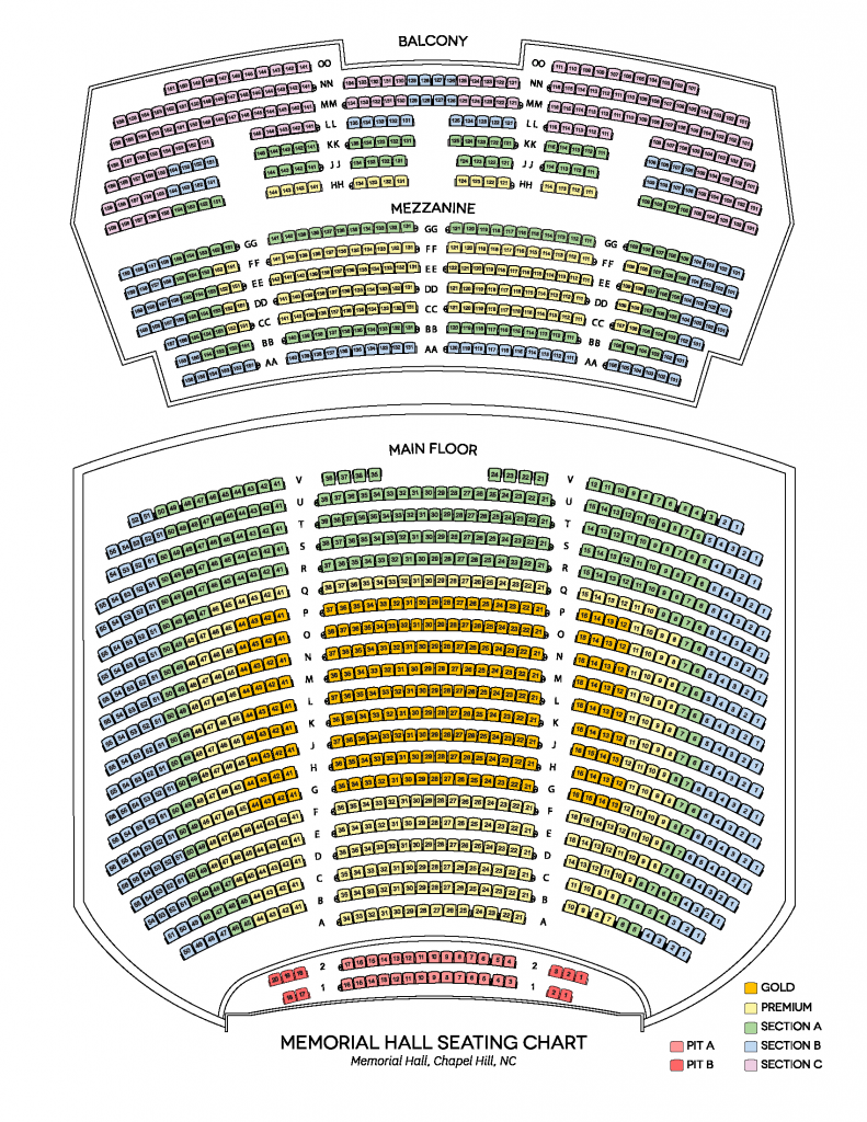 15-16 Memorial Hall Seat Map (w Pit).compressed