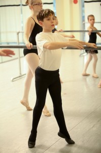 Nutcracker - Gage Gordon in Class