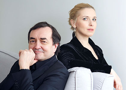 Pierre-Laurent Aimard and Tamara Stefanovich, pianos