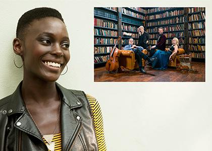 Fanm d'Ayiti <p>Nathalie Joachim with Spektral Quartet